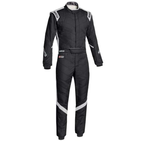 Sparco Victory RS-7 Race Suit-Black / Grey