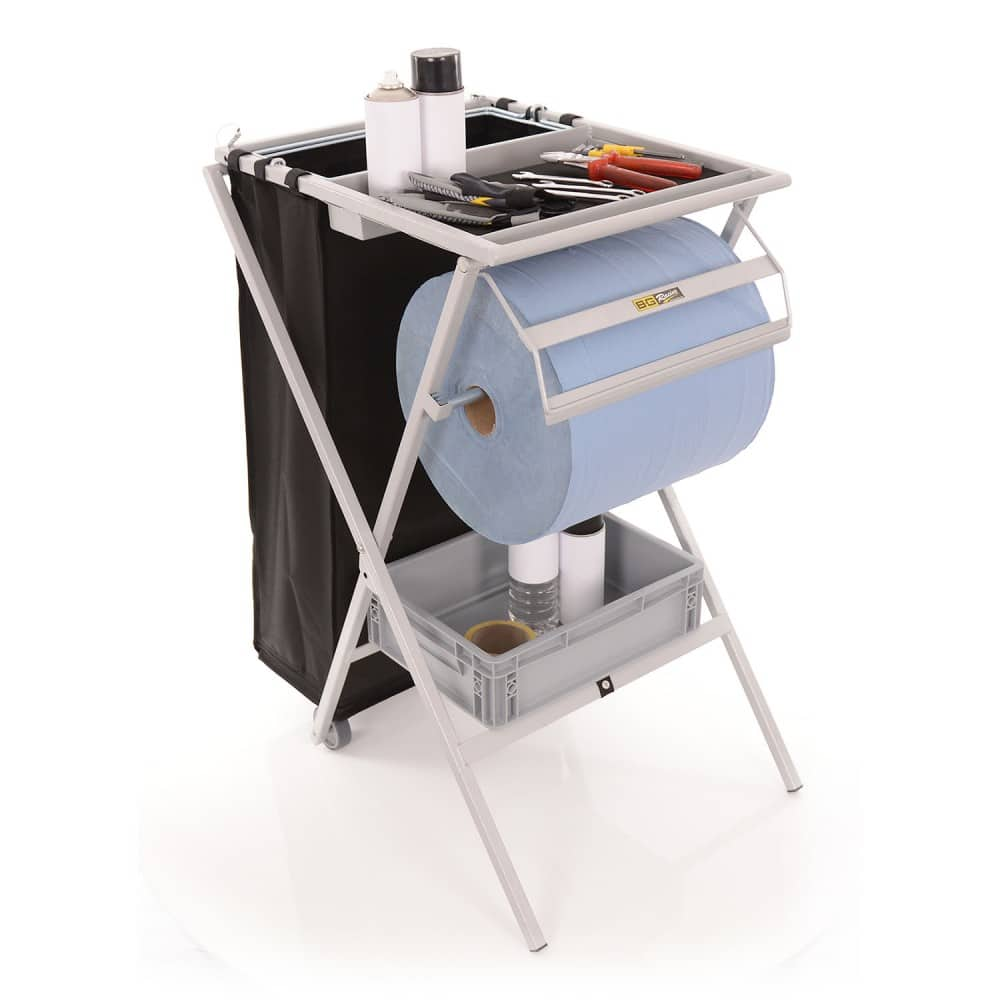folding utility workstation for Mechanics