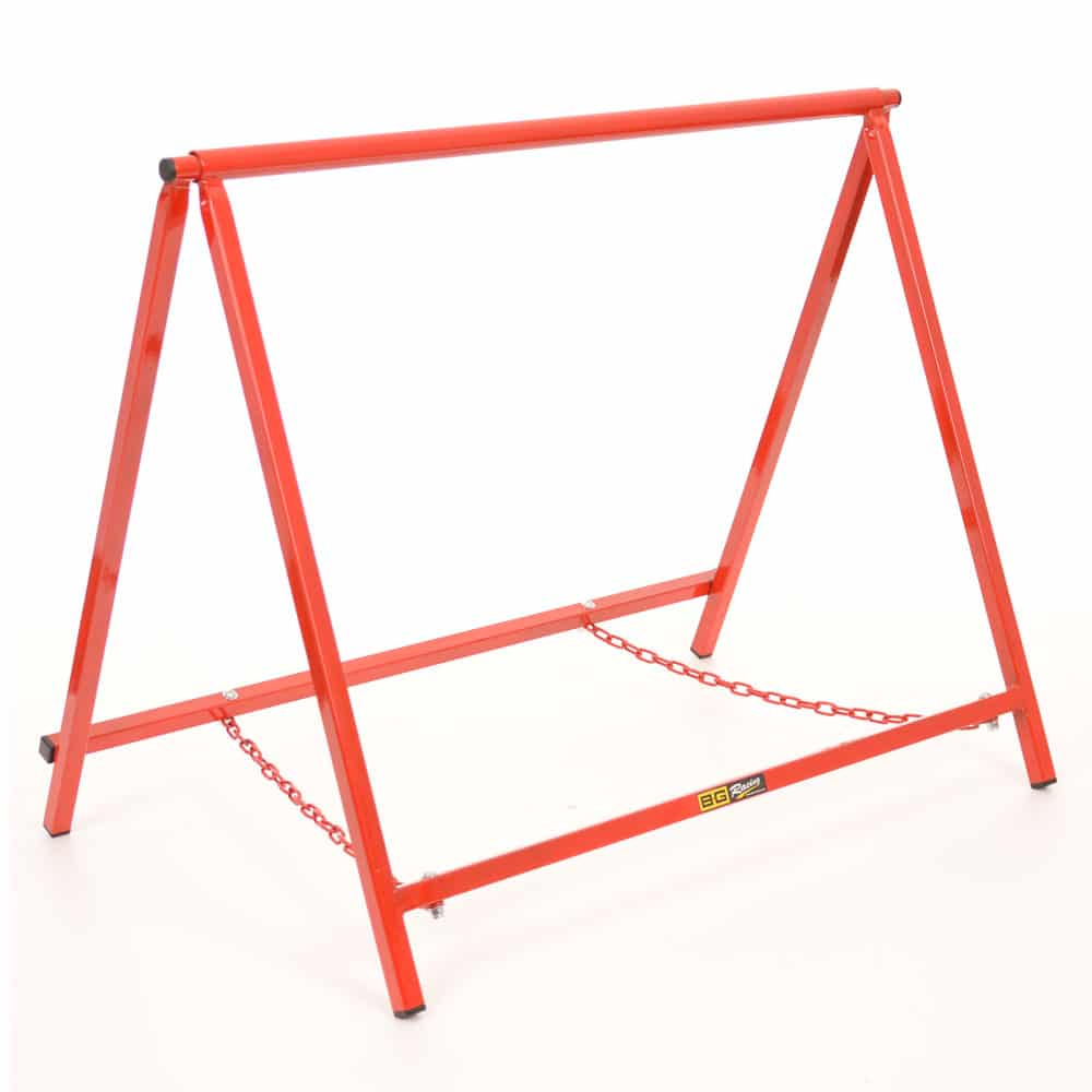 chassis stands 24 inch red