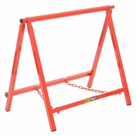 "B-G Racing - Chassis Stands - Large 18"" - Powder Coated (Red)"