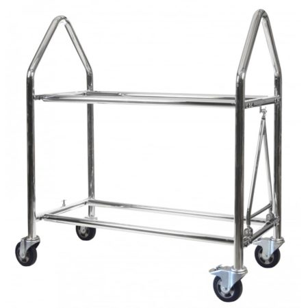 B-G Racing - Wheel and Tyre Trolley - Stainless Steel