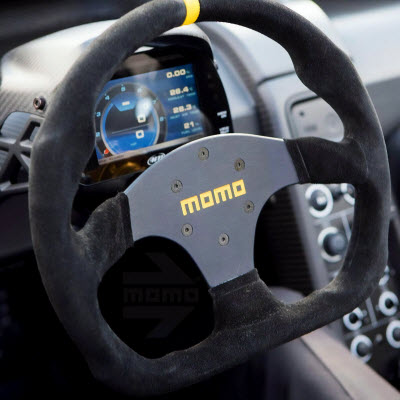 MOMO Model 80 Evo Racing Steering Wheel