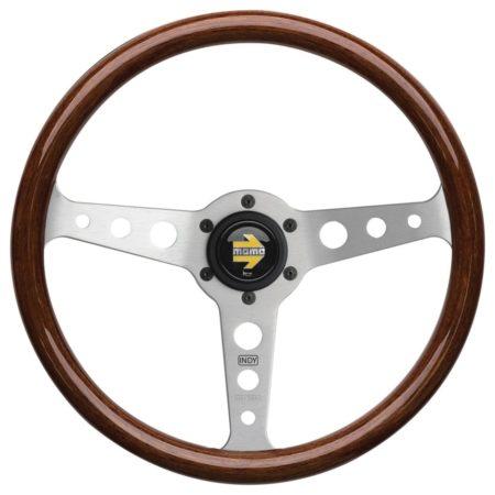 Momo Indy Wood Rim Steering Wheel