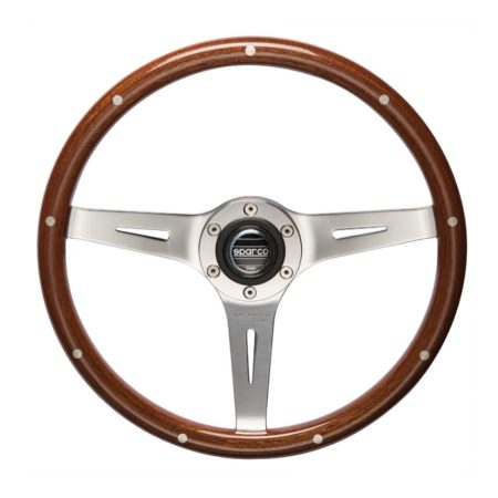 Sparco Sanremo Woodrim Steering Wheel