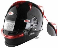 helmet spoiler for Bell Helmets