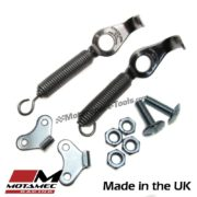 Motamec Competition Boot Body Panel Springs Holder Pair with Fixings Stainless S