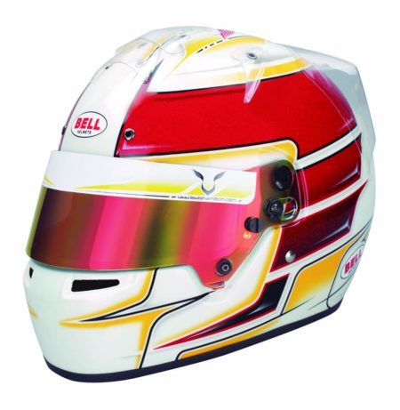 Bell KC7-CMR Lewis Hamilton Kart Helmet