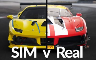 Using Sim Racing to Prepare to Race a Ferrari