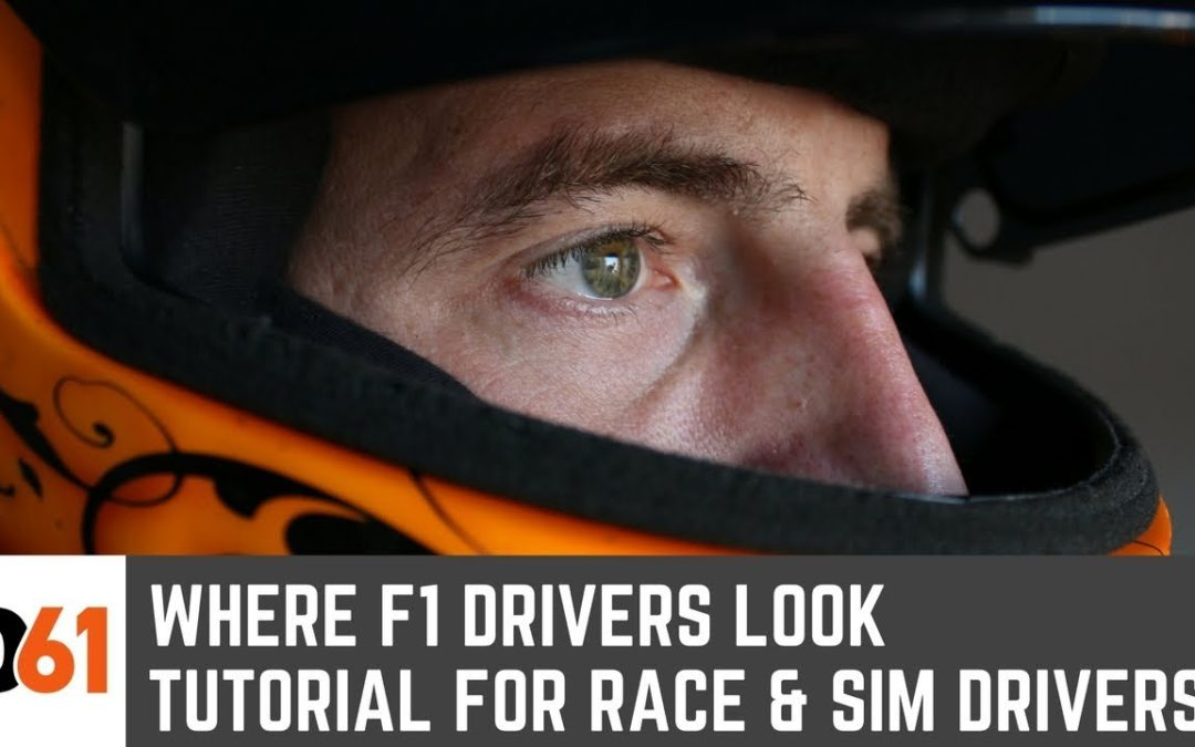 Where F1 Drivers Look: How to Be Faster on Track & in Sim Racing
