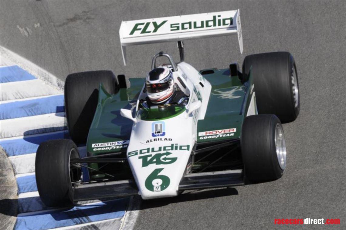 Williams F1 race car for sale