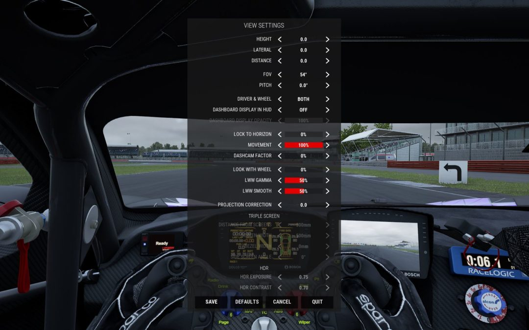 How to Set FOV in Assetto Corsa and Assetto Corsa Competizione