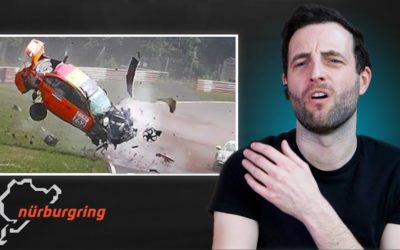 Race Driver Reacts to MASSIVE Nurburgring Fails