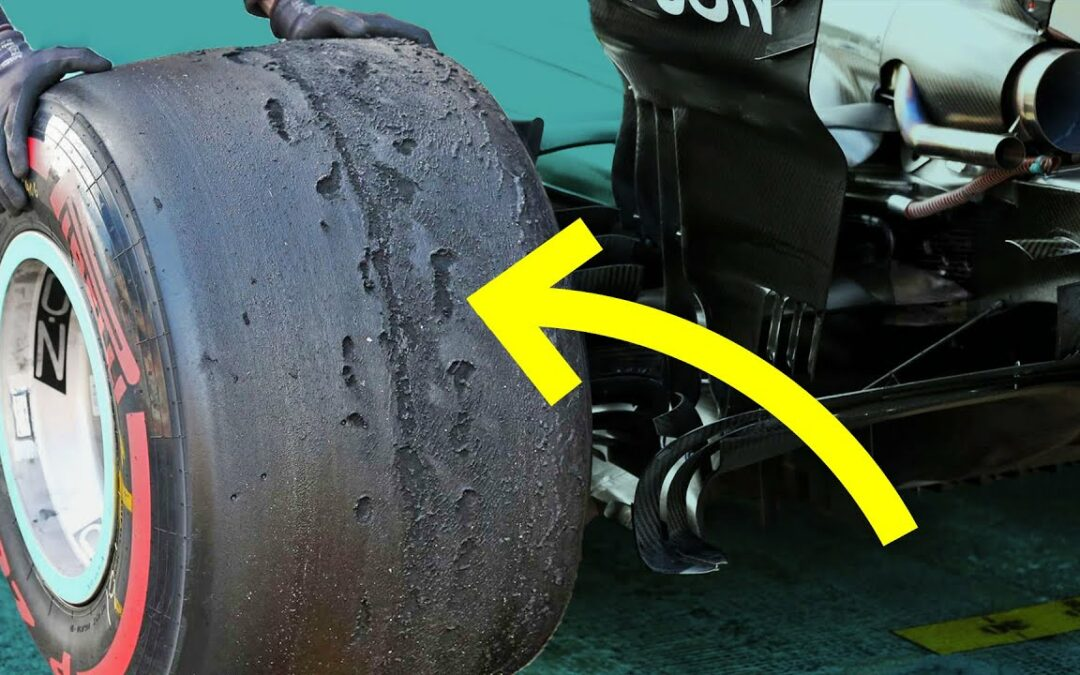 How Formula 1 Cars Boil Rubber