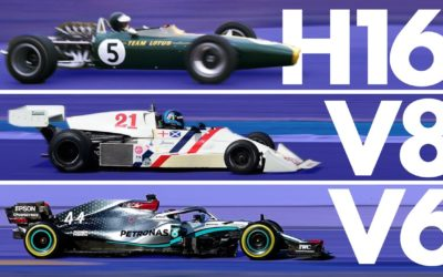 The Incredible Evolution of Formula 1 Engines | Track Evolution
