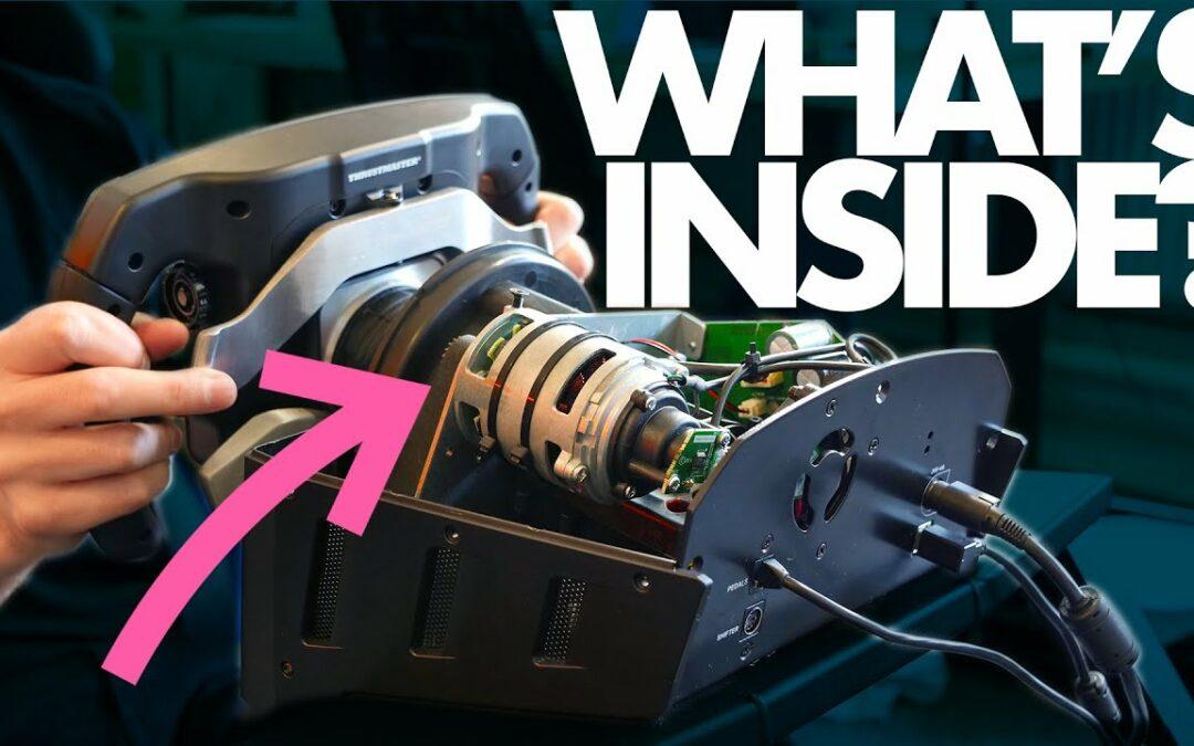The Amazing Engineering of an F1 Sim-Wheel