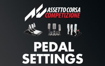 Pedal Settings in ACC | How to Set Your Pedals the Right Way