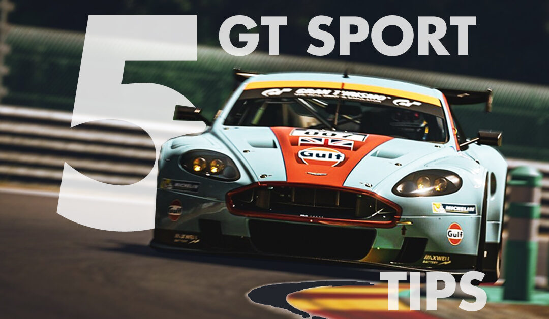 Gran Tursimo Sport Top 5 Tips   How to Get Faster in GT Sport