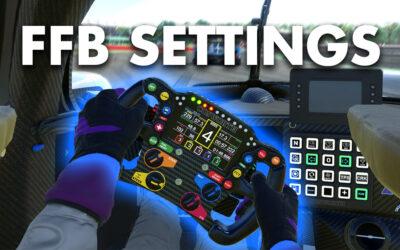 iRacing Force Feedback Setup Guide